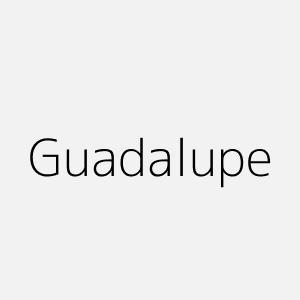 Significado del nombre Guadalupe