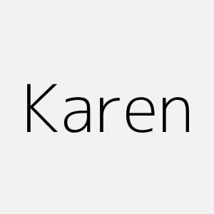 significado del nombre karen