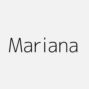significado del nombre mariana