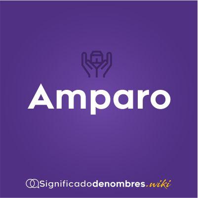 Significado del nombre Amparo