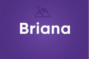 Significado del nombre Briana