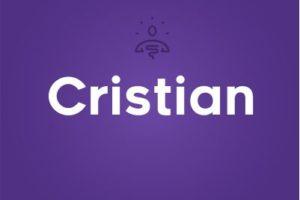 Significado del nombre Cristian